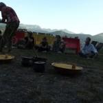 animer un repas africain en montagne !